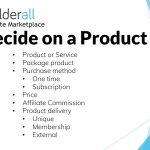 Builderall Toolbox Tips Deciding on a Product