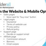 Builderall Toolbox Tips Designing the Website