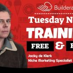 Builderall Toolbox Tips Tuesday Night Training with Jacky de Klerk:  CRM (Customer Relationship Management) in Builderall